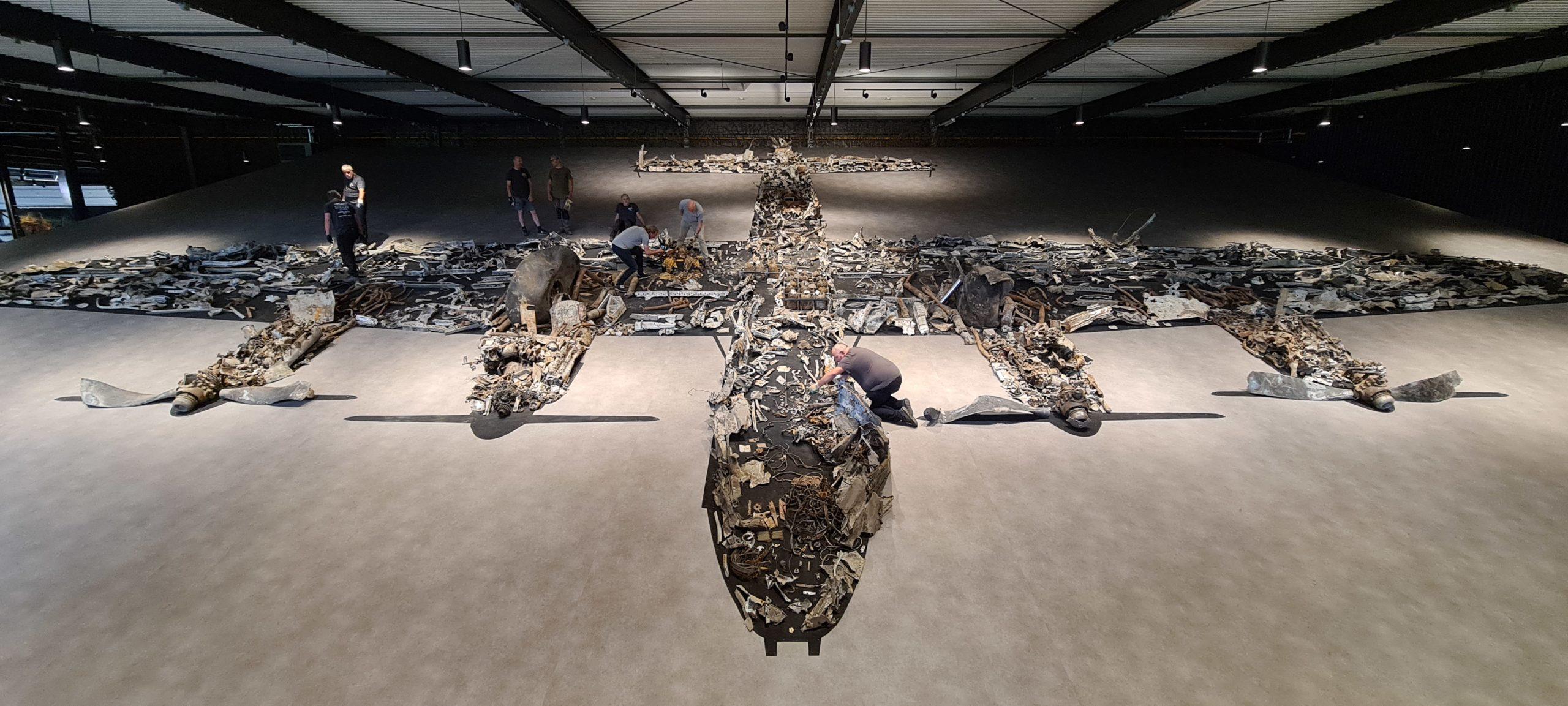 Lancaster in Overloon Warmuseum